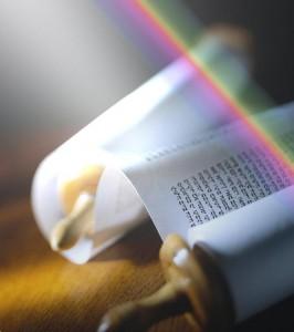 rainbow scroll